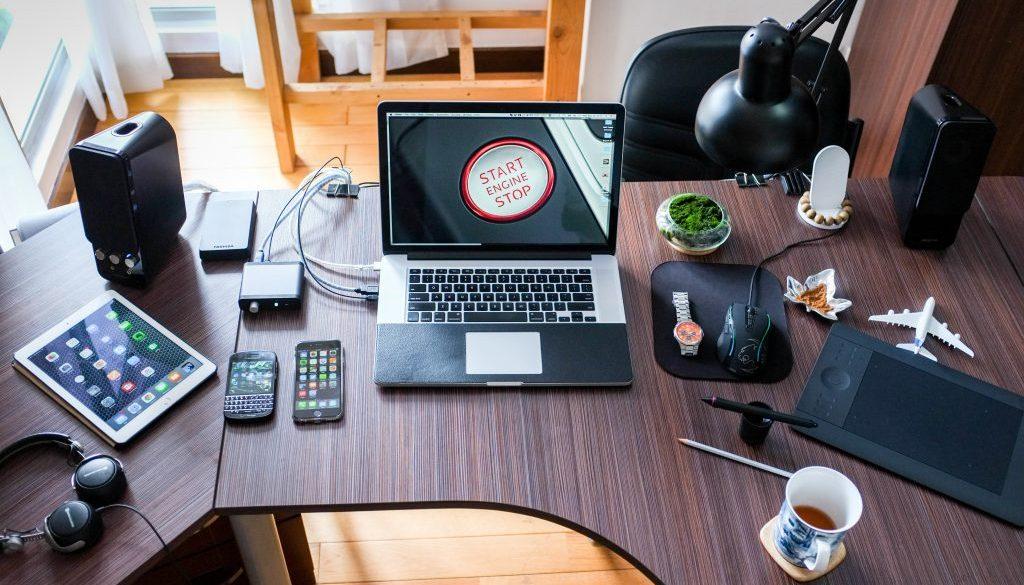 Canva - A Desk Work Space
