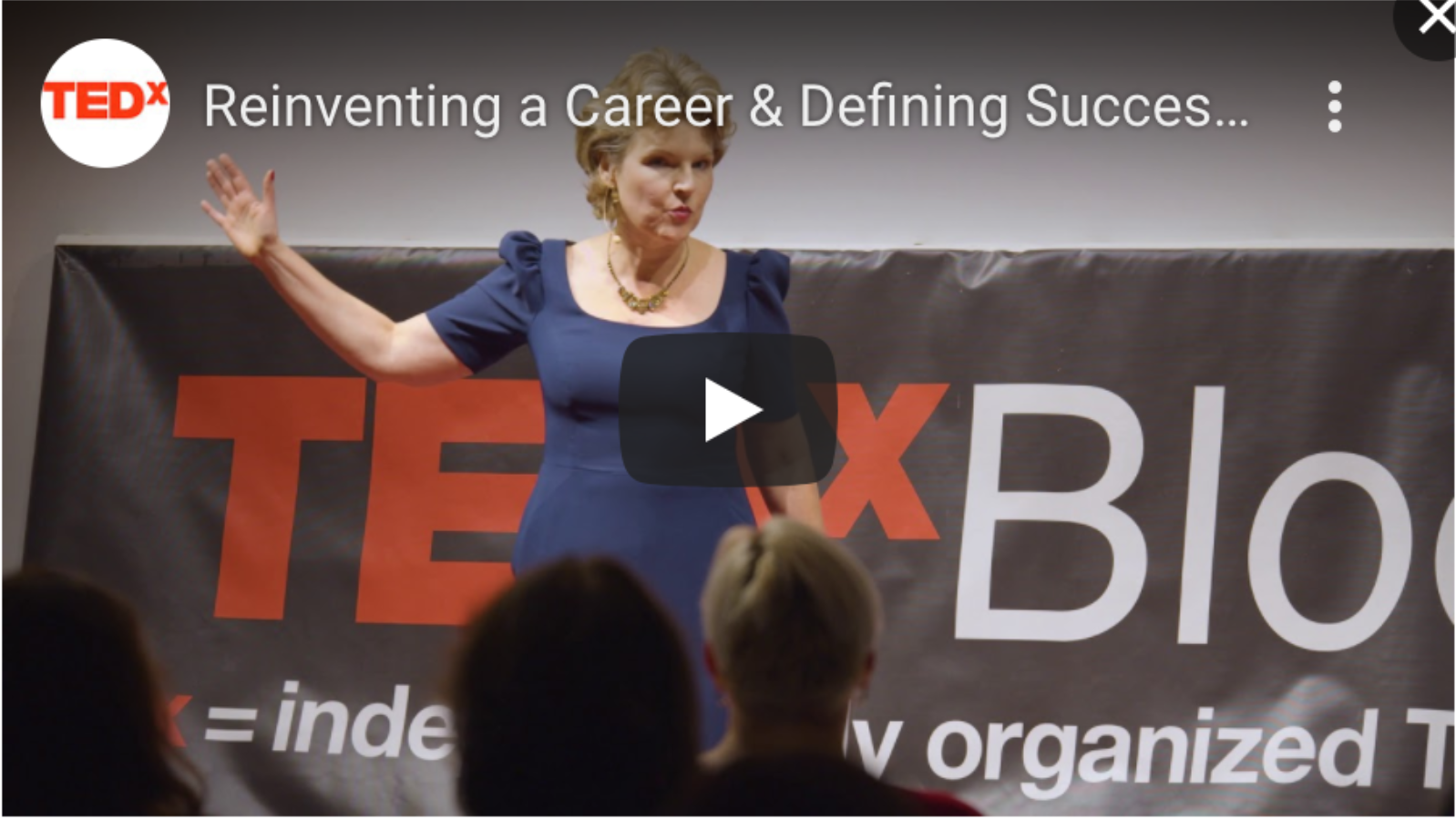Click video to watch Caroline's Tedx Talk